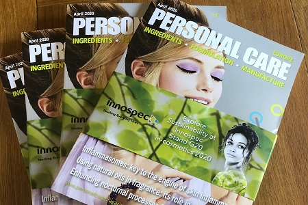 Vita Rosalience latest publication on Personal Care Magazine